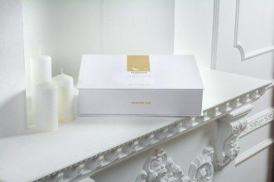 Комплект постільної білизни MirSon Сатин Premium Black Diamond 0240+0055 200х220 (2200000688859)
