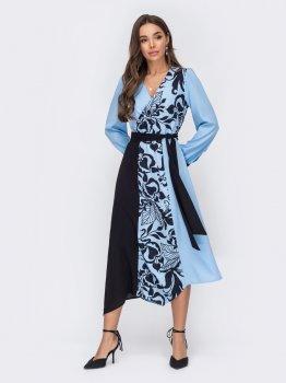 Плаття Dressa 52966 Блакитне
