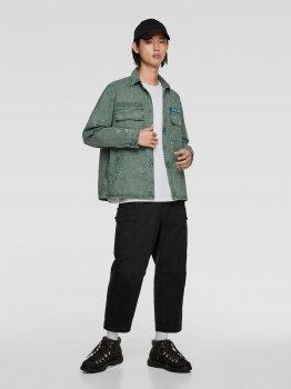 Джинсовая куртка Zara 8062/312/519-ACVR Мятная