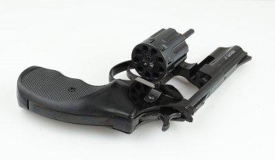 """Револьвер Zbroia PROFI 3"""" (черный/пластик)"""