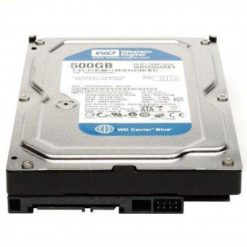 Жорсткий диск Western Digital Blue 500GB 7200rpm 16MB SATAIII (WD5000AAKX) 3.5 Refurbished