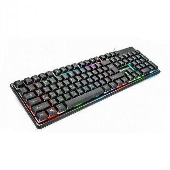 Дротова Клавіатура Real-El Comfort 7011 Backlit USB Б/В
