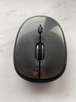 Беспроводная мышь LORERAN Wireless Mouse, портативная оптическая, 2,4 Гц, симметричный дизайн, серая