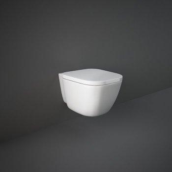 Унітаз підвісний RAK Ceramics One EL13AWHA безобідковий