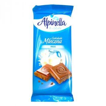 Шоколад Alpinella Молочный 90г (00-00000026)