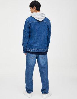 Джинсовка Pull & Bear М0107543 Синя
