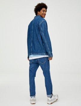 Джинсовка Pull & Bear М0107761 Синя