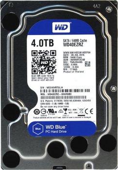 Накопичувач HDD SATA 4.0 TB WD Blue 5400rpm 64MB (WD40EZRZ)