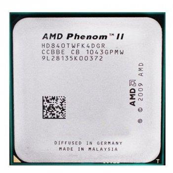 Процесор AMD Phenom II X4 840T 2,9 GHz AM3 Б/У