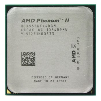 Процессор AMD Phenom II X4 955 3,2GHz AM3 (95Вт) Б/У