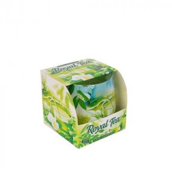 Свічка ароматизована Bartek S152-2 Green Tea 7х7 см