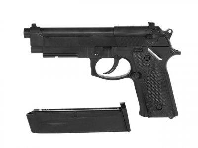 Пістолет STTI Beretta M92F/M9 Plastic Ris Green Gas (Страйкбол 6мм)