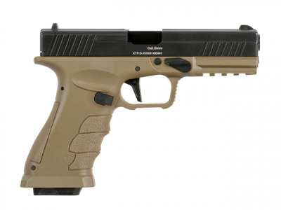 Пістолет APS XTP Xtreme Training Pistol Green Gas Dark Earth(Страйкбол 6мм)
