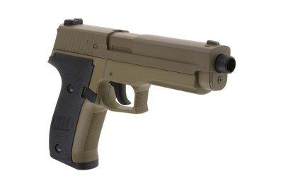 Пістолет SIG sauer P226 Metal Slide Cyma CM.122 AEP Tan (Страйкбол 6мм)