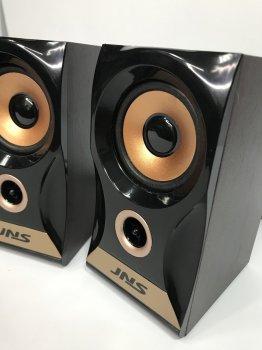 Колонки 2.0 JNS-58 з регулятором гучності, Чорний