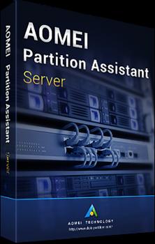 Системная утилита AOMEI Partition Assistant Server (1 сервер), пожизненные обновления (PAS-01)