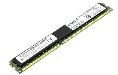Модуль пам'яті Crucial DDR3 RDIMM 16Gb PC3-15000 CL13 ECC Registered (CT16G3ERVDD4186D.18DED)
