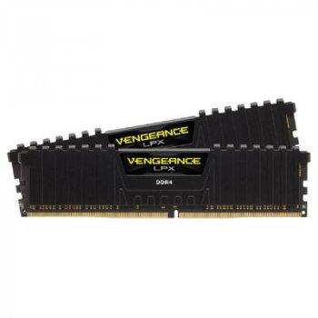 Модуль пам'яті Corsair DDR4 16GB (2x8GB) 2400 MHz Vengeance LPX Black (CMK16GX4M2A2400C14)
