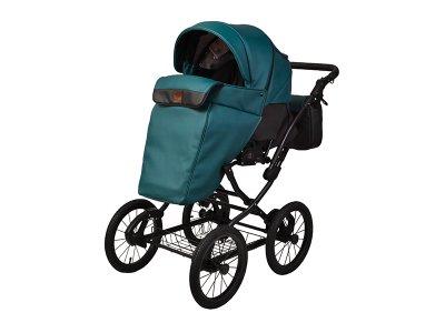 Детская коляска 2 в 1 Angelina Phaeton Classic зеленая color 36