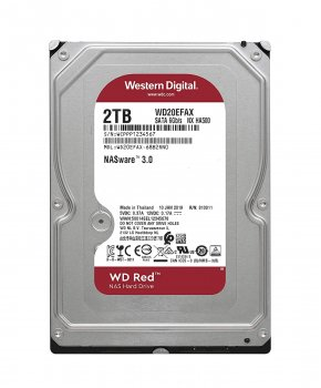 """Жорсткий диск Western Digital 2TB 3.5"""" 256MB 5400rpm (WD20EFAX)"""