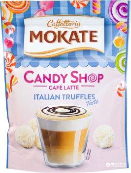 Упаковка розчинного кавового напою Mokate Candy Shop Latte Italian Truffles 10 шт. по 110 г (26.073) (5900649068056)