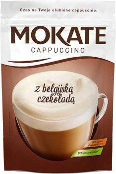 Упаковка розчинного кавового напою Mokate Caffetteria Belgian Chocolate 10 шт. по 110 г (26.075) (5902891280545)