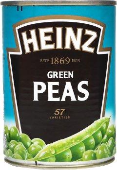 Зеленый горошек Heinz 400 г (5900783007614_5900783009434)