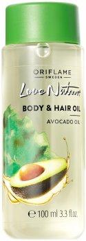 Масло авокадо Oriflame Love Nature для тела и волос 100 мл (34098) (ROZ6400105400)