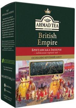 Чай черный крупнолистовой Ahmad Tea Британская Империя 100 г (0054881019385)