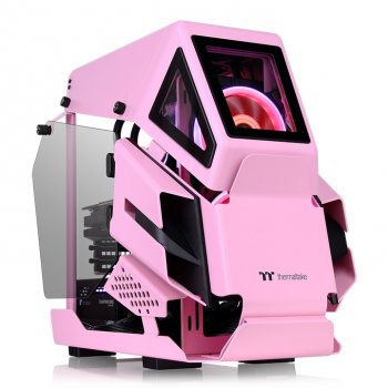 Корпус Thermaltake AH T200 Micro Chassis Black and Pink (CA-1R4-00SAWN-00)