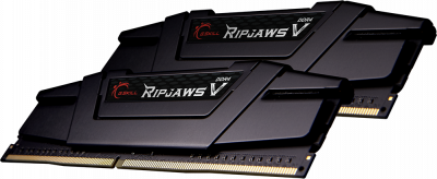 Оперативна пам'ять G.Skill DDR4-3600 65536 MB PC4-28800 (Kit of 2x32768) Ripjaws V Black (F4-3600C18D-64GVK)