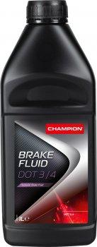 Гальмівна рідина Champion Brake Fluid DOT 3/4 1 л (8208003)