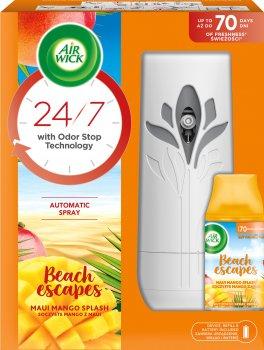 Автоматический аэрозольный освежитель воздуха Air Wick Freshmatic Тропические фантазии: Сочное манго (5900627060331)