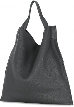 Женская кожаная сумка Poolparty Bohemia Черная