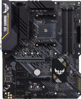 Материнська плата Asus TUF Gaming B450-Plus II (sAM4, AMD B450, PCI-Ex16)