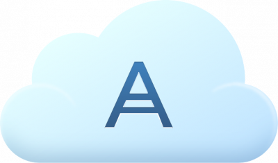 Acronis Cloud Storage Subscription License for 11.7, 250 GB, 1 Year