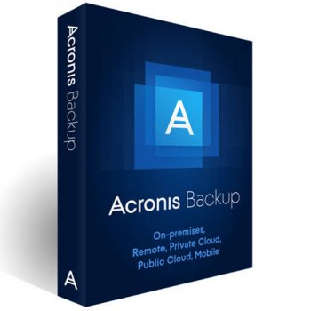 Acronis Backup Standard Office 365 Subscription License 5 Mailboxes, 1 Year