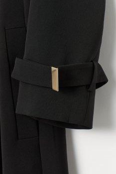 Пальто H&M 7252799-AAAD Черное