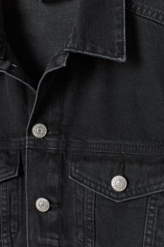Джинсова куртка H&M 7356001-ACXD Синя