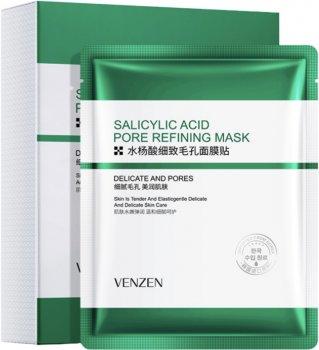 Набор масок Bioaqua Venzen для проблемной кожи с салициловой кислотой 3 шт х 25 г (2000000244853)