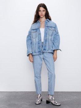 Джинсова куртка Zara 5252-214-400-ACUT Джинсова