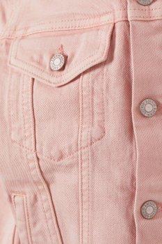 Джинсовая куртка H&M 3990611-ACWG Розовая