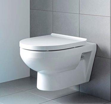 Унитаз DURAVIT Durastyle Basic Rimless 45620900A1 с сиденьем Soft Close