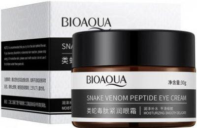 Крем для век Bioaqua Snake Venom Peptide Eye Cream с пептидом змеиного яда Укрепляющий 30 г (6941349366485)