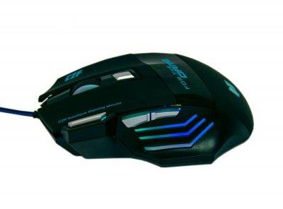 Игровая мышка с подсветкой Gaming mouse G-509-7 3200DPI, многокнопочная геймерская мышь | ігрова мишка (1008239-Black-1)