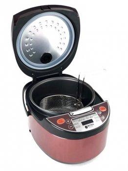 Мультиварка пароварка фритюрница BITEK 6 литров медленноварка 1500 Вт лучшая домашняя мощная помощница на кухне BT00033B