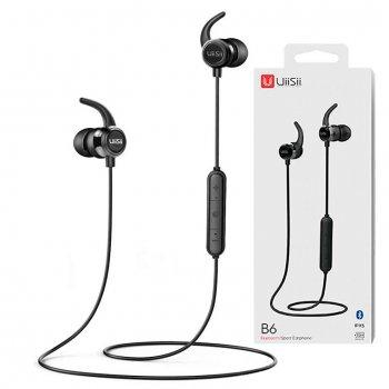 Bluetooth наушники с микрофоном UiiSii B6 черные