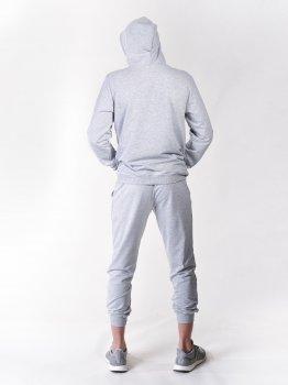 Спортивний костюм (кенгуру та штани) сірий Vudvud