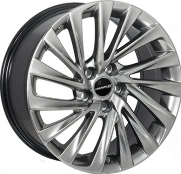 Zorat Wheels ZW-BK5716 HB R17 W7.5 PCD5x114.3 ET32 DIA60.1 Hyper Black