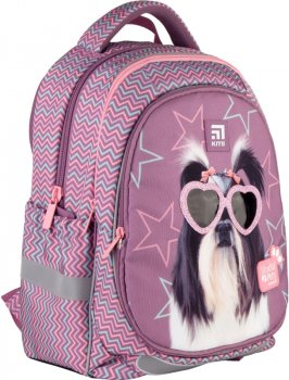 Рюкзак Kite Education Studio Pets 720 г 38x28x16 см 18 л Фиолетовый (SP21-700M(2p))